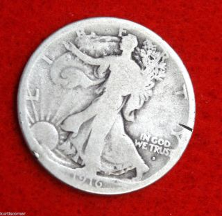 United States 1916 - D Walking Liberty Half Dollar With Good To Very Good Details photo
