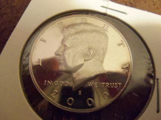 2000 S Proof Kennedy Half Dollar 50c photo