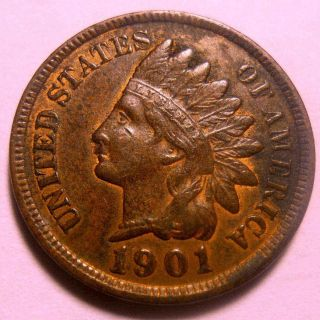 1901 Indian Cent Sharp photo