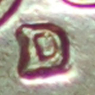 1961 - D/d Lincoln Cent In Red Choice Unc Repunched D Mintmark Scarce Variety photo