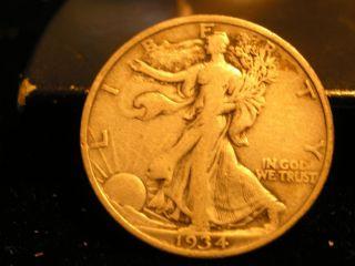 1934 - P Walking Liberty Half Dollar photo