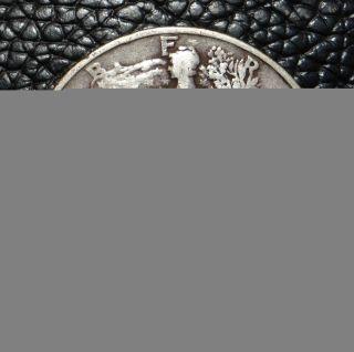 1939 D Walking Liberty Silver Half Dollar photo