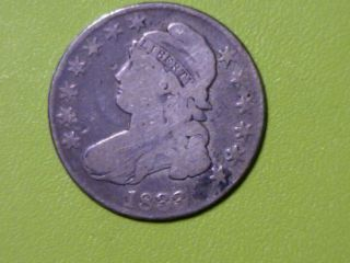 1833 50c Capped Bust Half Dollar - Overton 110 - Start The Year Out Right photo