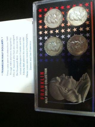 Franklin Half Dollar Colletion photo