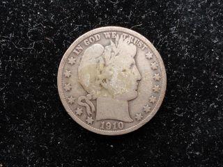 1910 Barber Half Dollar photo