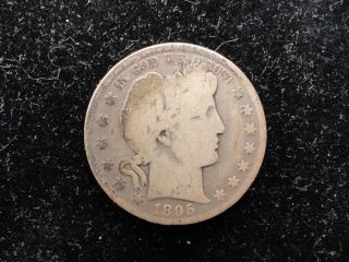 1895 Barber Half Dollar photo