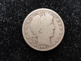 1901 Barber Half Dollar photo