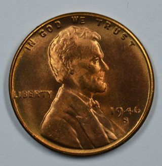 1946 S Lincoln Wheat Uncirculated Penny See Store For Discounts (gr04) photo