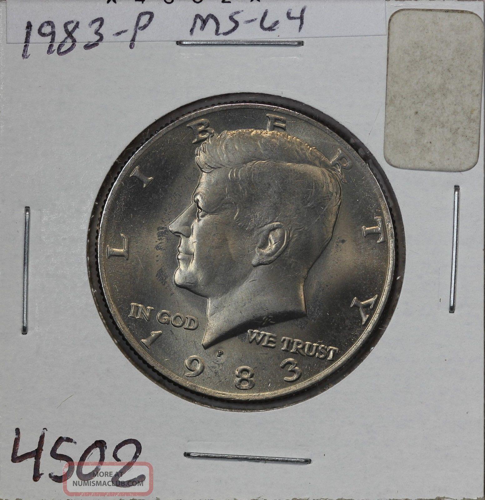 1983 - P Kennedy Half Ms Half Dollars photo