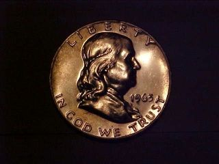 1963 Franklin Half Dollar Proof 2896 Give Me An Offer photo