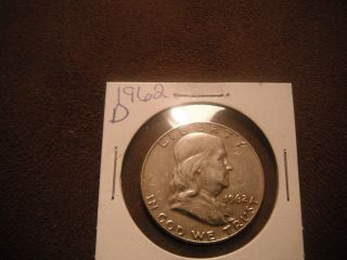 1962 D Franklin Half Dollar photo