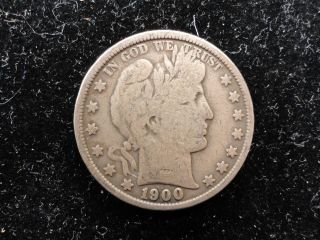 1900 Barber Half Dollar photo