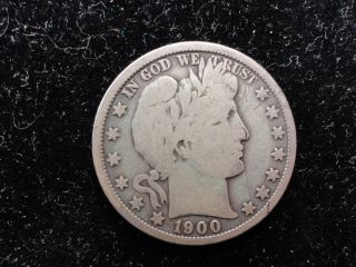 1900 - O Barber Half Dollar photo
