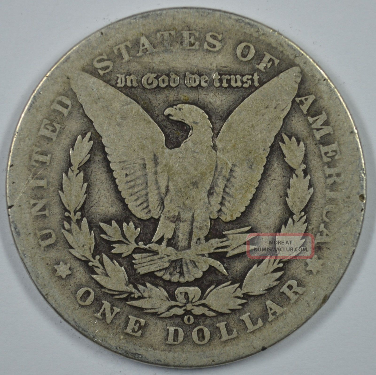 1891 O Morgan Silver Dollar Circulated See Store For