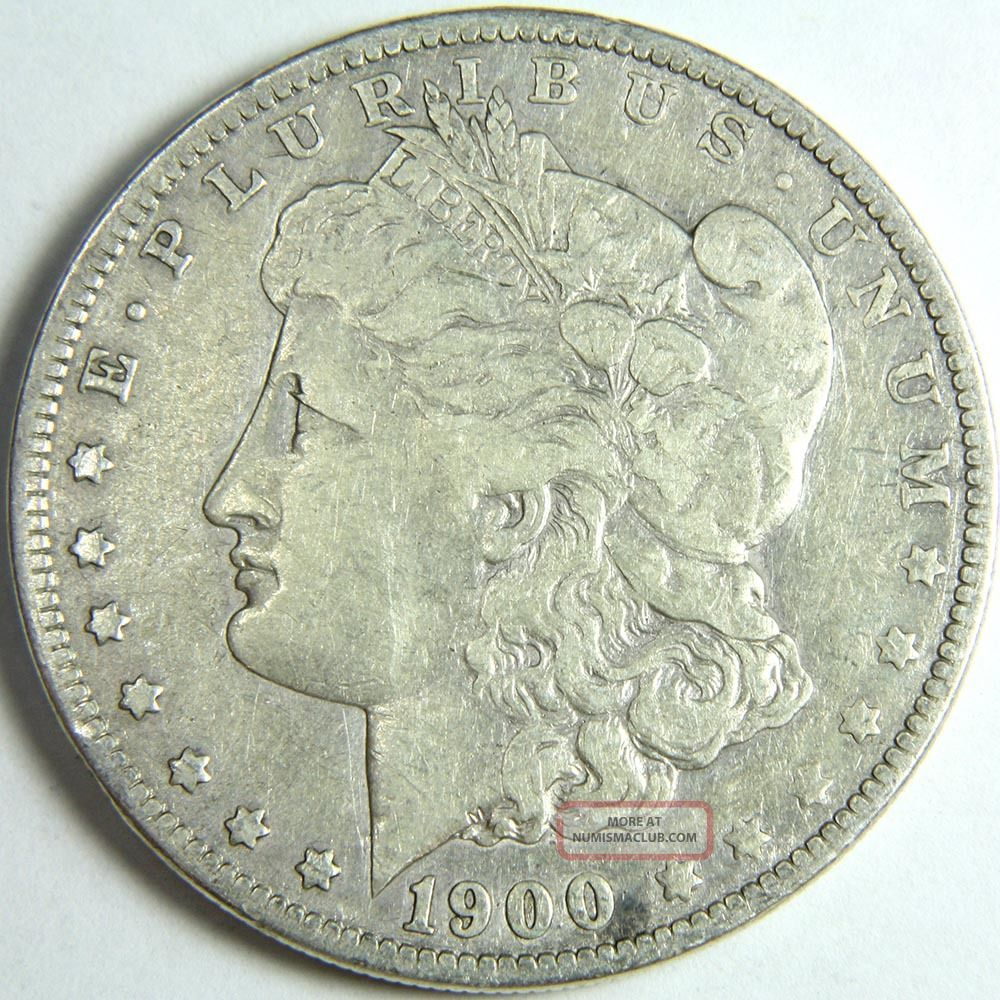 1900 O Morgan Silver Dollar Us Coin 7418
