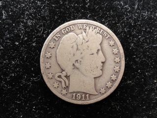 1911 Barber Half Dollar photo