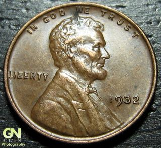 1932 P Lincoln Cent Wheat Penny - - Make Us An Offer O1909 photo