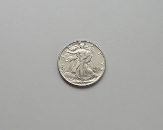 1945 Silver Walking Liberty Half Dollar photo