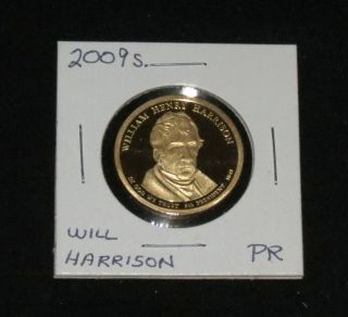 2009s Pres.  William Harrison Proof photo