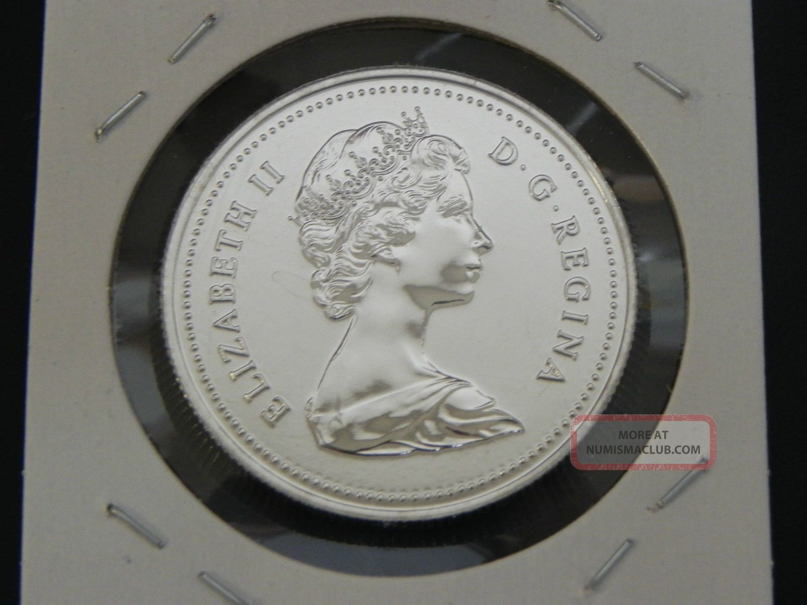 1980 Bu Pl Unc Canadian Canada Voyageur Elizabeth Ii Nickel One 1 Dollar