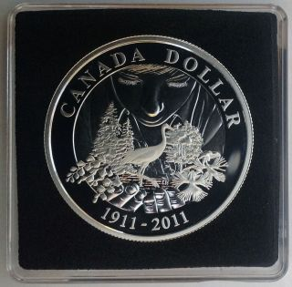 Proof Silver Dollar Coin - 100th Anniversary Of Parks Canada (2011) photo