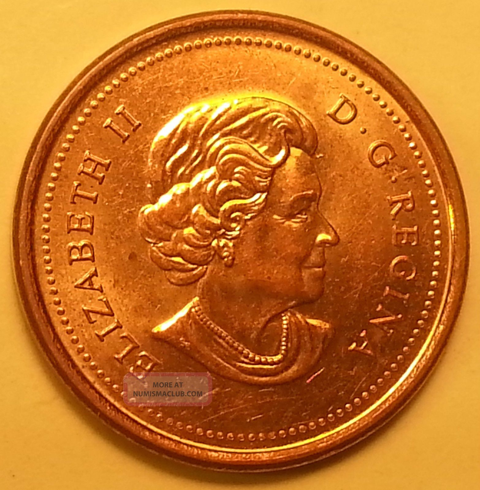 Extremely Rare 2006 Magnetic No Logo No P Canadian Small