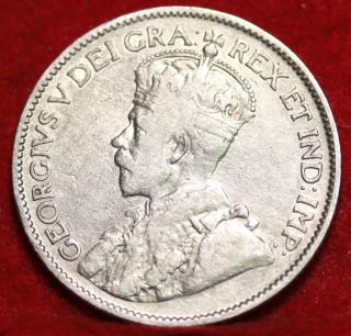 1912 Canada 25 Cents Silver Foreign Coin S/h photo