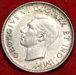 1937 Canada 25 Cents Silver Foreign Coin S/h photo