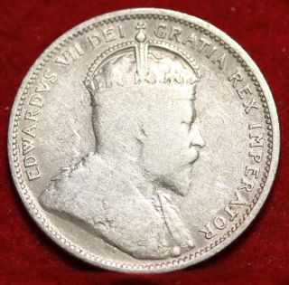 1903 Canada 25 Cent Silver Foreign Coin S/h photo