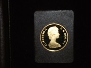 1979 Royal Canadian $100 Gold Coin,  (year Of The Child) 1/2 Troy Oz.  22k photo