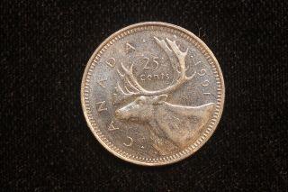 1991 Canada.  25 Cents.  (60) photo