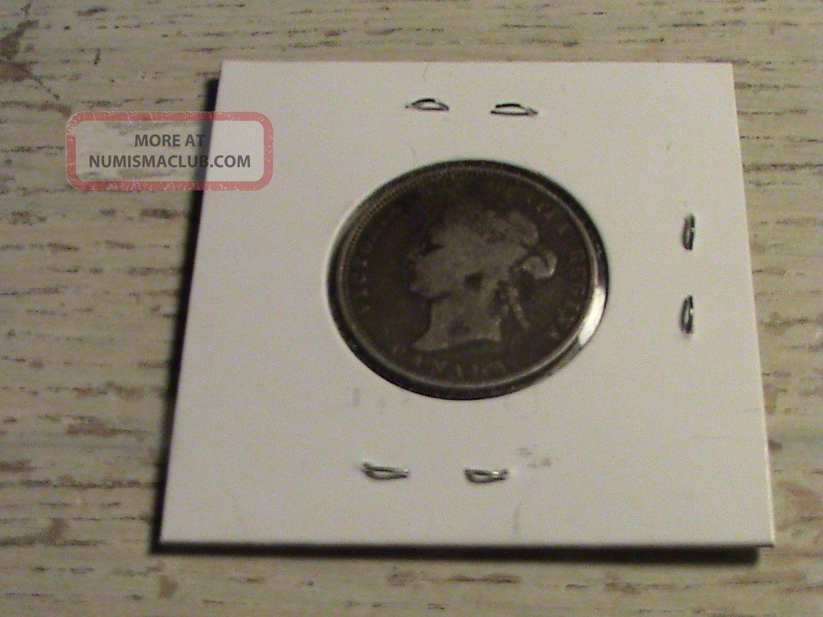 1872 Canadian Silver Quarter Zbh401