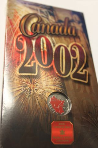 1952 - 2002 Double Dated Painted Quarter - Celebrate Canada For 135 Years photo