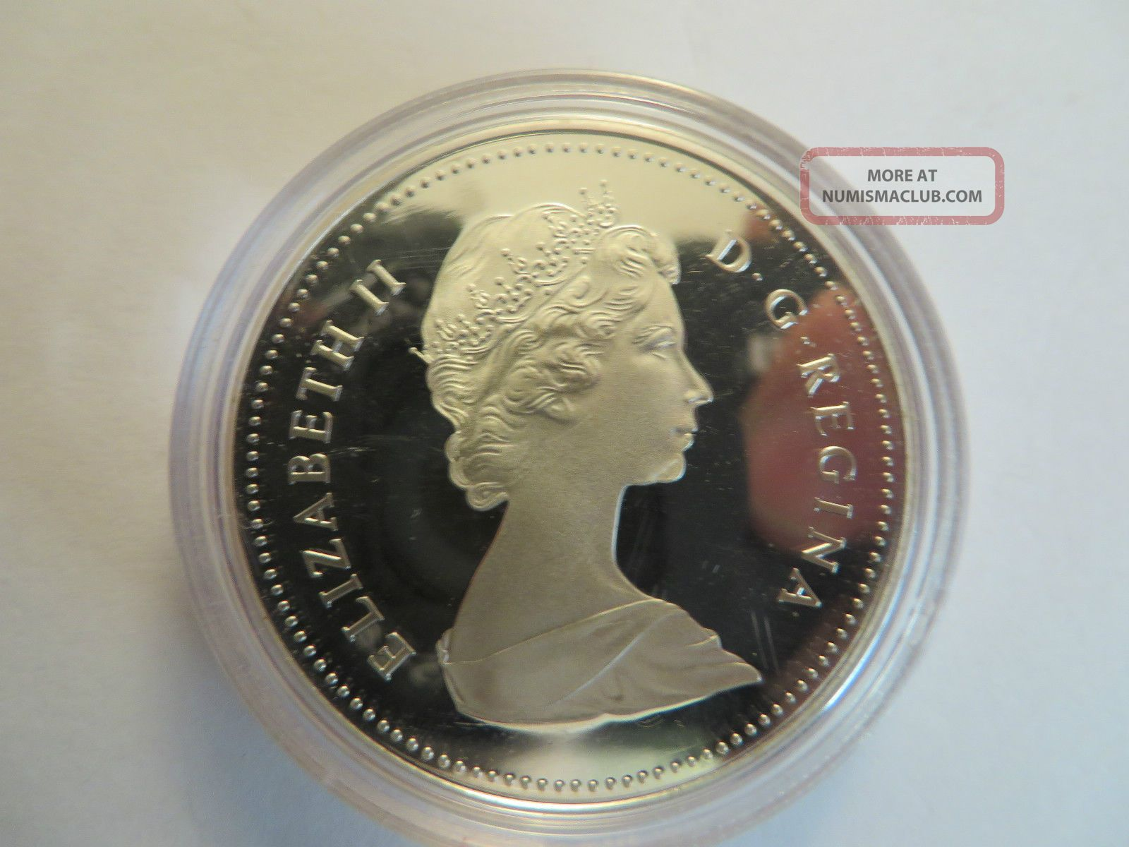 1984 Canadian Proof Silver Dollar Toronto 50 Silver Coin Only