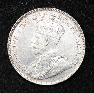 1913 Canada 25 Cents Au Details 92.  5 Silver Km 24 Tk615 photo
