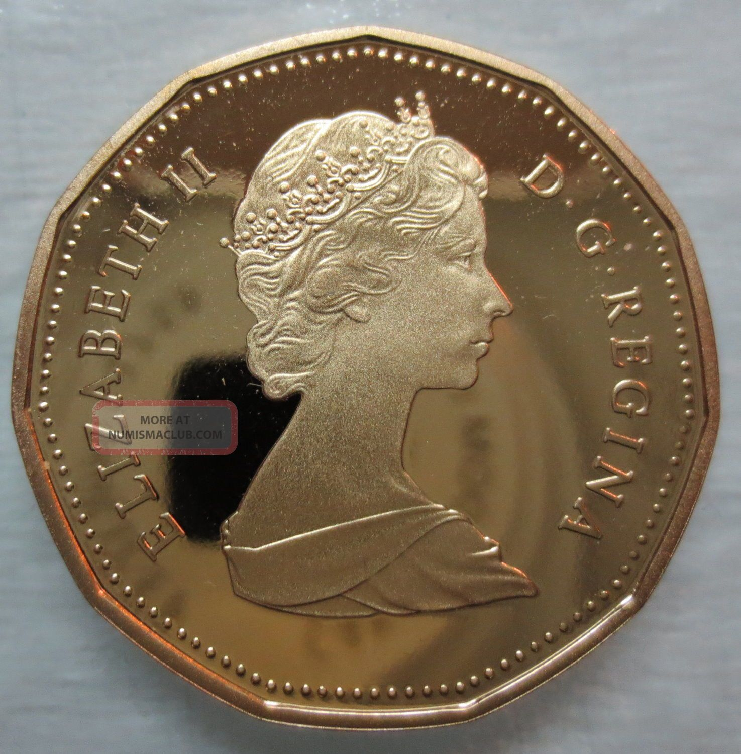 1989 Canada Loonie Proof One Dollar Coin