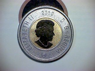 2010 Canadian Two Dollar Toonie In Sp - 68 photo