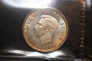 1941 Canada.  25 Cents.  Iccs Graded Ms - 63.  (xdb476) photo