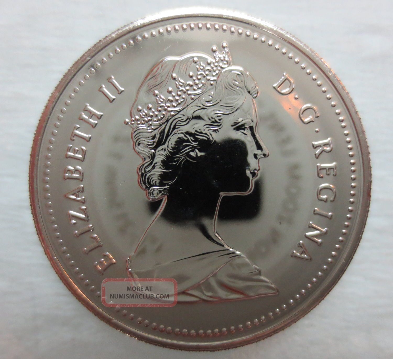 1988 Canada 50 Cents Proof Like Coin