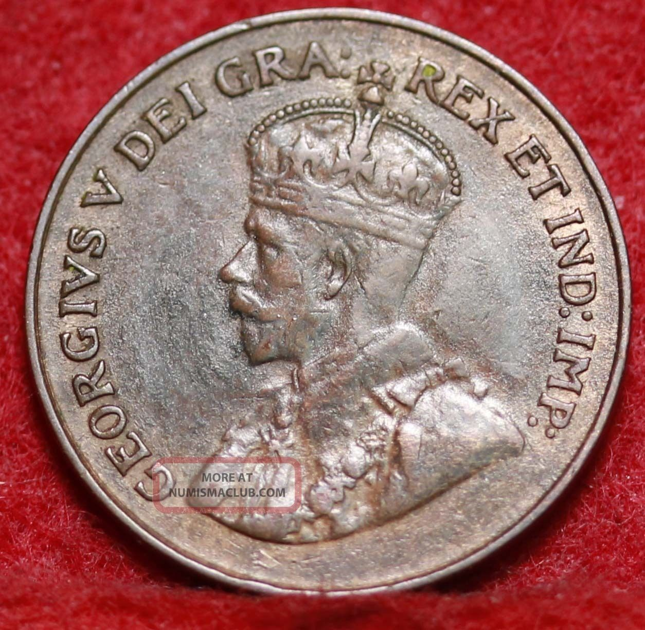 1921 Canada 1 Cent Foreign Coin S H
