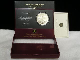 2006 Canada 20.  00 Fine Silver Coin Lighthouse With Mintage Only 20.  000 photo