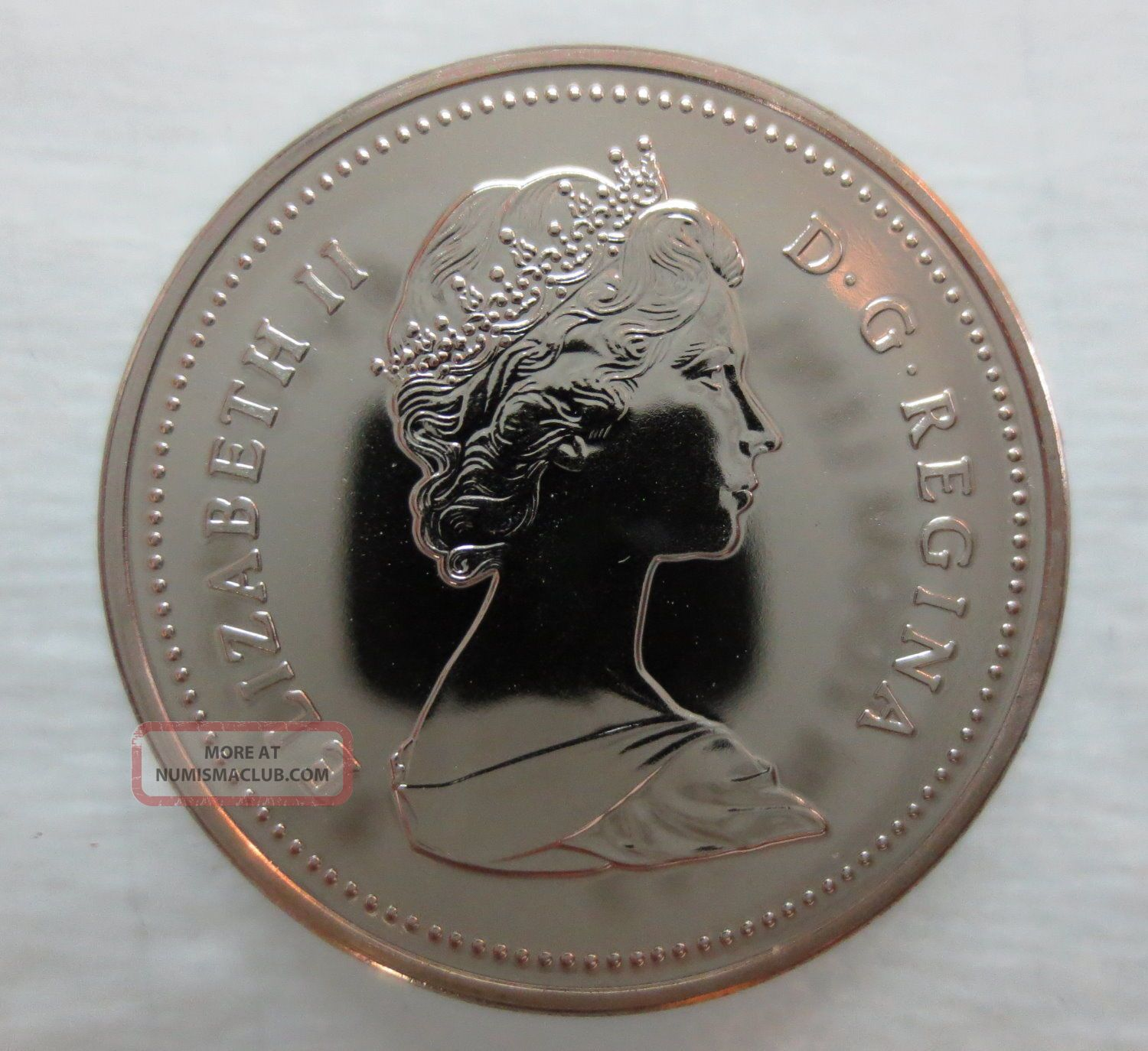 1988 Canada 5 Cents Proof Like Coin