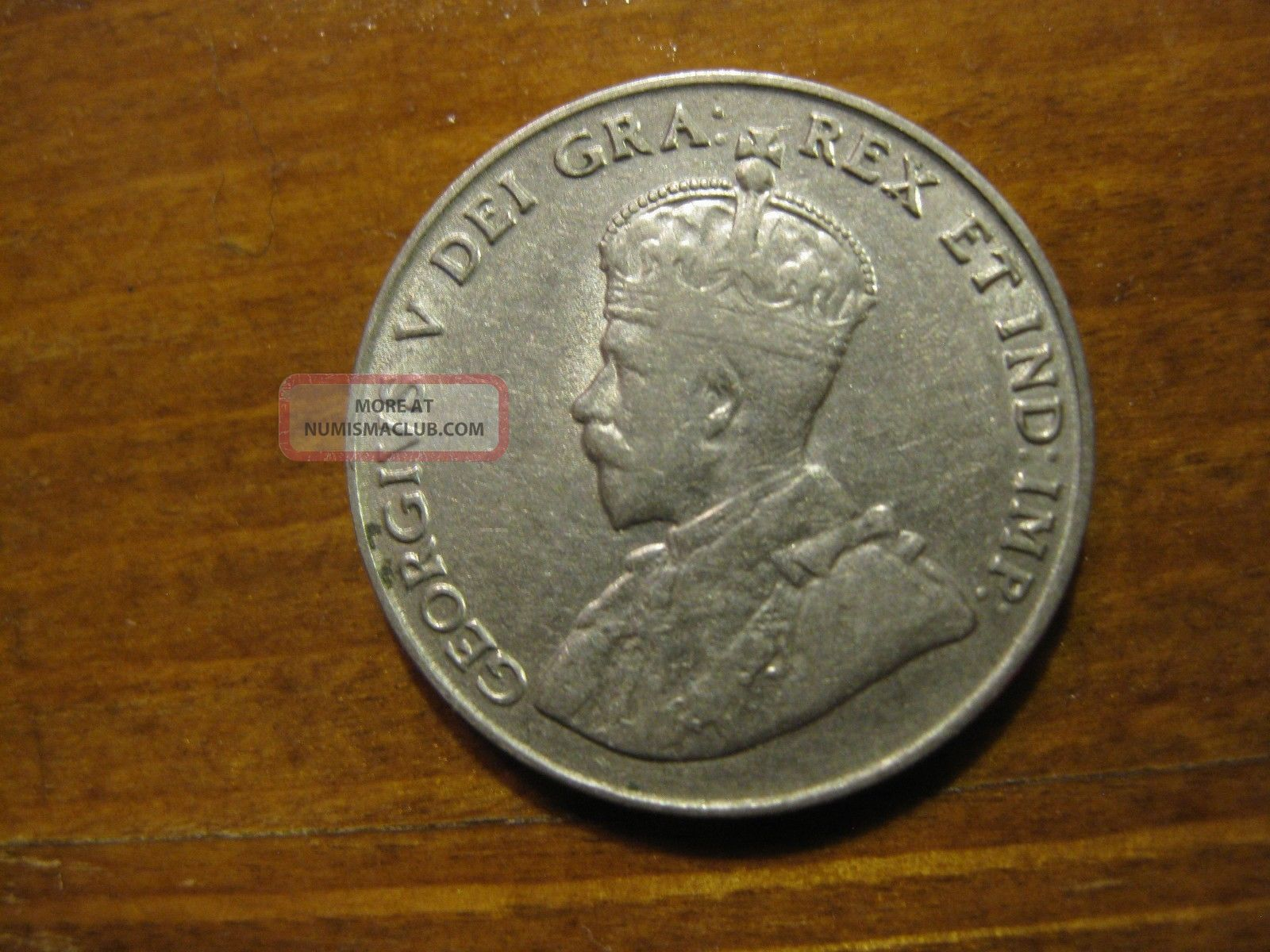 1922 Canada Five Cents