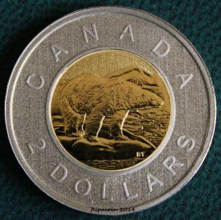 2010 Canada Toonie - 2 Dollar Coin