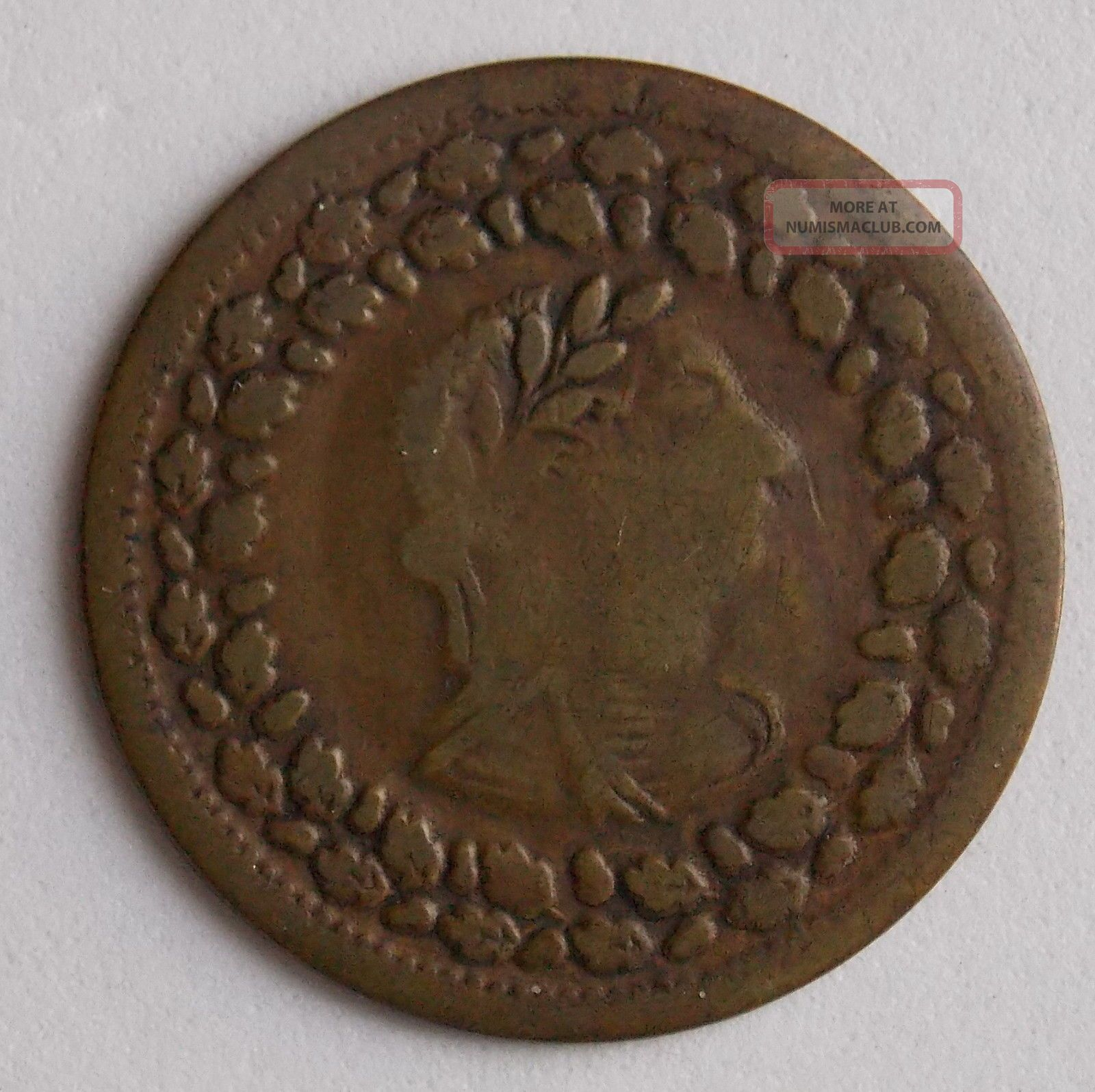 Lower Canada Quebec Half Penny Immitation Tiffin Token