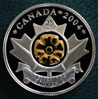 Canada 2004 Quarter 25 Cent Coin