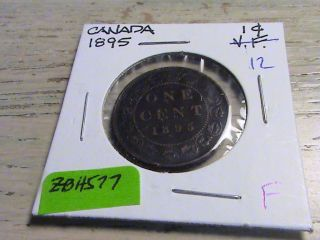 1895 Canadian Large Cent - Zbh578 photo