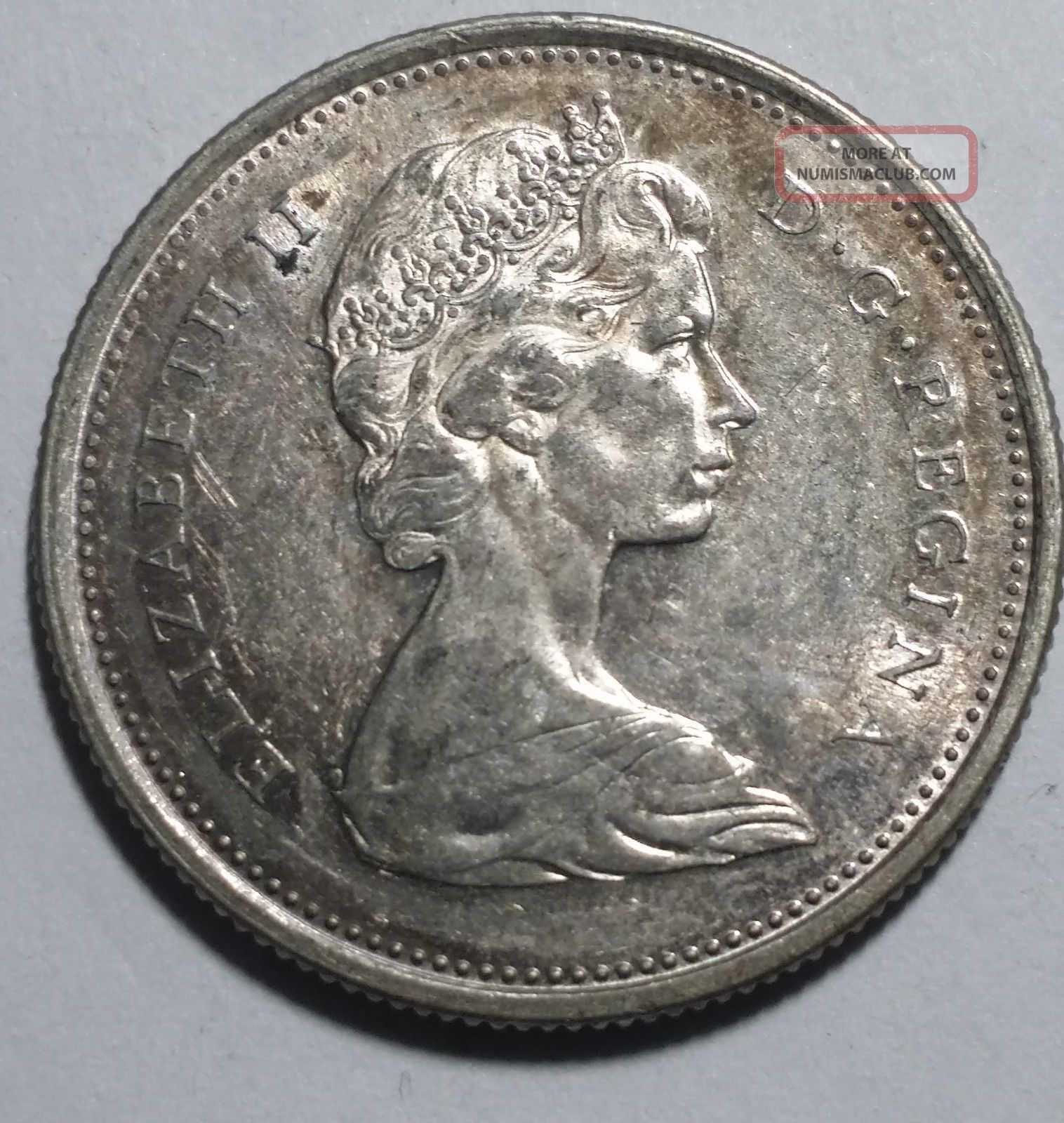 1967 25 cent coin value