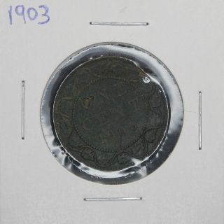 1903 Canada 1 Cent Coin photo