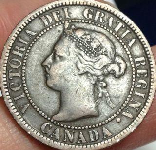 1901 Canada Large Cent - photo